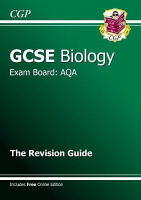 £2.59 • Buy GCSE Biology AQA Revision Guide (with Online Edition) (A*-G Course)-CGP Books