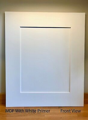 MDF Shaker Replacement Kitchen Door & Drawer Fronts 110mm Frame • 19.71£