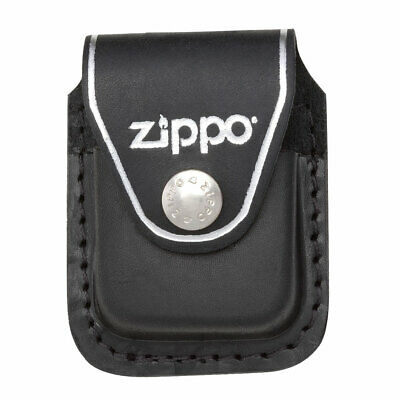 $9.60 • Buy Zippo Lighter Pouch With Clip Black Leather (LPCBK)