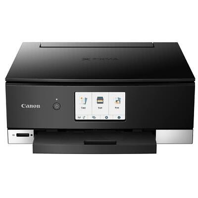 View Details Canon PIXMA TS8220 Wireless Office All-In-One Printer, Black - Print, Scan, Copy • 84.95$