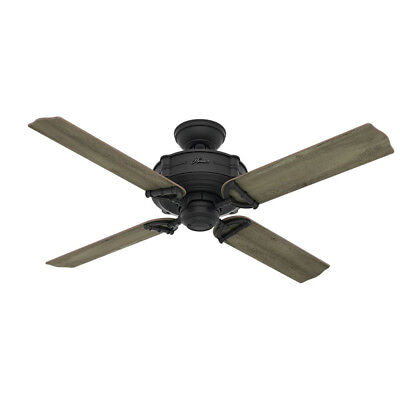 $199.99 • Buy Hunter 54181 52 In. Natural Iron Ceiling Fan  New