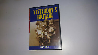 * NEW DVD TV Film * YESTERDAY'S BRITAIN THE 1940S * DVD Movie • 3.18£