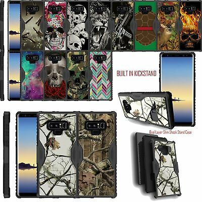 $ CDN13.51 • Buy For Samsung Galaxy Note 9 Shockproof Slim Hybrid Dual Cover With Kickstand Case