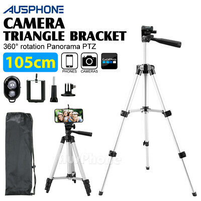 AU16.85 • Buy Adjustable Camera Tripod Mount Stand Holder For IPhone Samsung Mobile Phone AU
