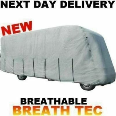 New Grey Maypole 7.0m To 7.5m Motorhome Winter Summer Cover Breathable 7.0 7.5 • 189.95£