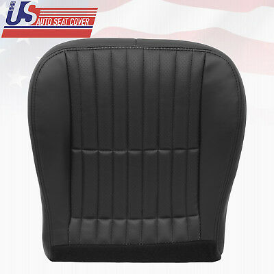 $142.46 • Buy 2000 2001 2002 Chevy Camaro SS RS Z28 Driver Bottom Seat Cover Charcoal Black
