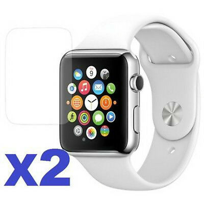 $ CDN2.67 • Buy 2-PACK Tempered Glass Screen Protector For Apple Watch Series 3 38mm/42mm