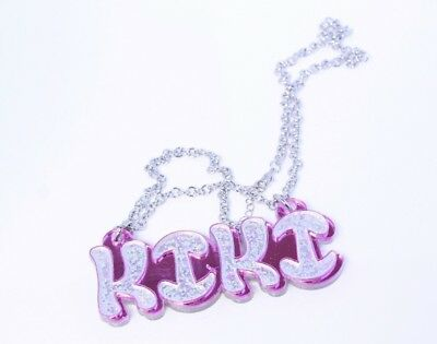 £28.97 • Buy Custom Made Couples Necklace - Personalized Name Necklace - Acrylic Name Chain