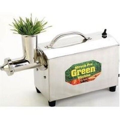 $845 • Buy Miracle MJ575 +++ 220VOLT +++ Pro Green Machine Stainless Wheatgrass Juicer