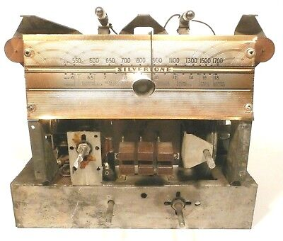 $ CDN103.67 • Buy VIntage  SILVERTONE TABLE MODEL 6022 RADIO: Working (kind Of) CHASSIS W/ BUTTONS