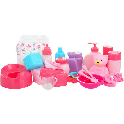 Tinkers Baby Doll Accessories 25 Pieces Nursery Play Set Christmas Birthday Gift • 20.41£