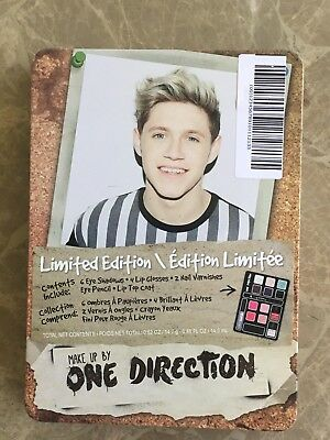 £10.86 • Buy NEW One Direction NIALL Limited Edition MAKE-UP Kit 1D CASE Eye Shadow LIP GLOSS