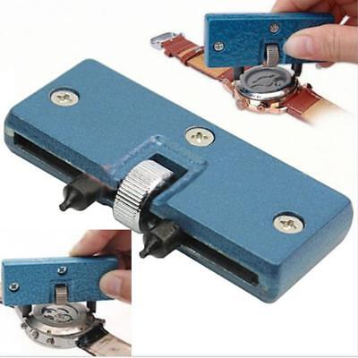 $ CDN4.92 • Buy Adjustable Watch Repair Tool Kit Back Case Opener Cover Remover Screw Wrench UK