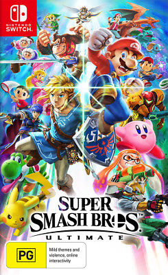 AU84.95 • Buy Super Smash Bros. Ultimate Switch Game NEW