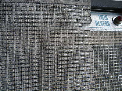AU25.95 • Buy 36''x60'' Black&Silver Grill Cloth For Fender 1x12 Twin Reverb Amplifier Cabinet