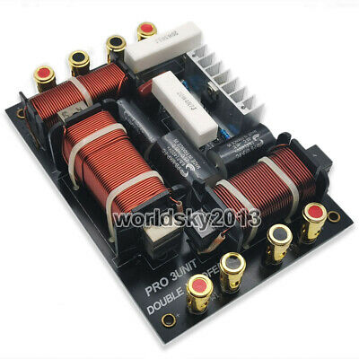 $ CDN70.34 • Buy 1pcs Double Woofer 800W 2 Way 3 Unit Speaker Frequency Divider Crossover Filters