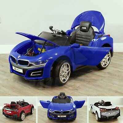 RiiRoo Bmw Style 12v Kids Ride On Car Electric Battery Powered Childrens Cars • 129£