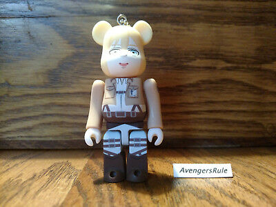 $9.95 • Buy Bearbrick Attack On Titan Keychain Medicom Historia Reiss