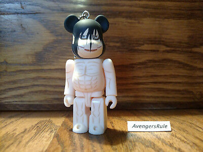 $9.95 • Buy Bearbrick Attack On Titan Keychain Medicom Eren Titan