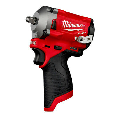 Milwaukee M12 FUEL Li-Ion 3/8 In. Stubby Impact Wrench 2554-20 New (Tool Only) • 179$