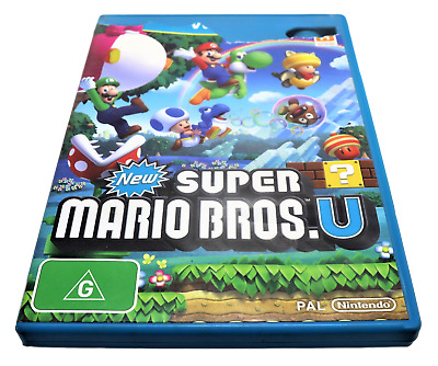 AU29.90 • Buy New Super Mario Bros U Nintendo Wii U PAL *Complete*