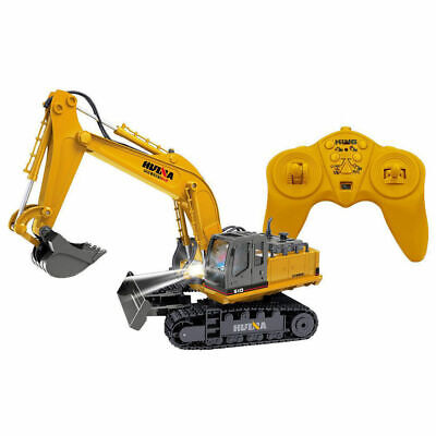AU56 • Buy Tractor Excavator Die-Cast Digger RC Remote Controlled 2.4GHz Toy Car Truck Kids