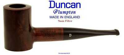AU65.58 • Buy Duncan Briars Plumpton 9mm Filter Smooth Straight Poker Pipe G NEW England