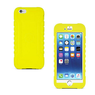 AU13.90 • Buy Gecko IPhone 6 6s Heavy Duty Case Cover Shockproof Silicone Citron Ultra Tough