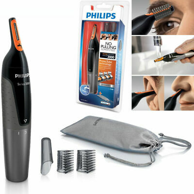 AU19.60 • Buy Hair Trimmer PHILIPS NT3160 Nose Ear Eyebrow Shaver - Washable No Pulling No Cut