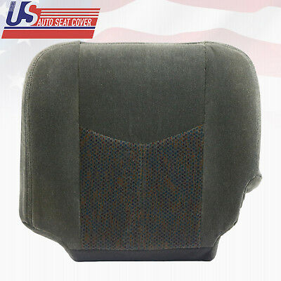 $183.67 • Buy 2003 To 2007 Chevy Silverado LT Driver Bottom Cloth Seat Cover Dark Pewter Gray