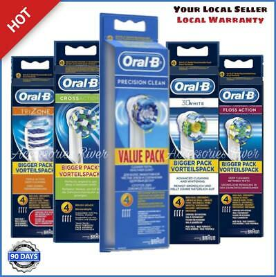 AU14.68 • Buy Oral B Toothbrush Head Genuine Braun Electric  - New In Box - AU Seller