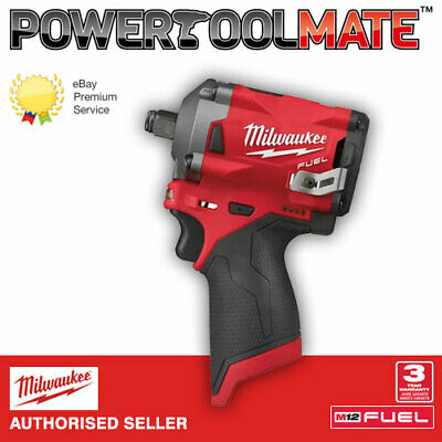 £116.99 • Buy Milwaukee M12FIWF12-0 12V M12 Li-ion FUEL 1/2in Impact Wrench (Body Only)