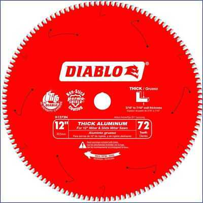 Diablo D1272N Thick Aluminum Cutting Saw Blade 12  X 72 Tooth New • 62.97$