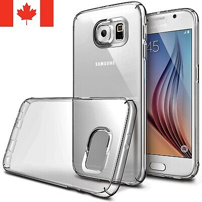 $ CDN4.95 • Buy For Samsung Galaxy S5 & S6 Case - Clear Thin Soft TPU Silicone Back Cover