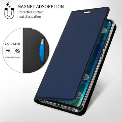 $4.74 • Buy For Xiaomi Redmi Note 9S 8T 7 Pro 8A 7A Leather Flip Wallet Magnetic Case Cover
