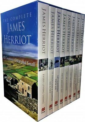 £22.90 • Buy Complete James Herriot Box Set 1-8 (Vet In A Spin) 8 Books Collection Set NEW