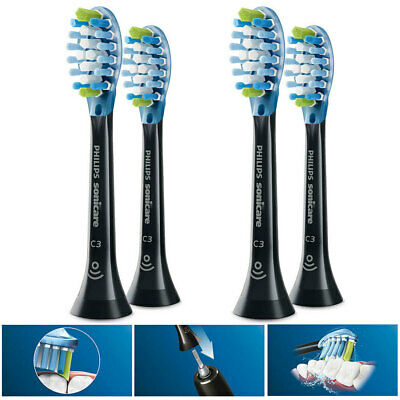 AU79.95 • Buy 4PK Philips Sonicare C3 Replacement Plaque Brush Heads For Electric Toothbrush B
