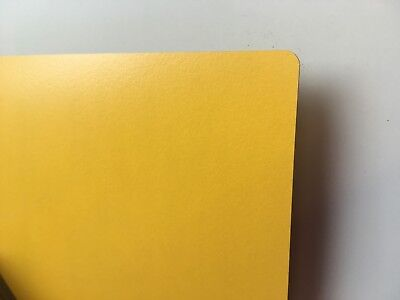 Formica Type Laminate Sheet YELLOW 600mm X 300mm Laminate Is 0.8mm Thick • 15.84£