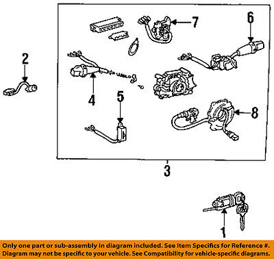 $589.62 • Buy TOYOTA OEM 95-97 Corolla-Turn Signal Switch Lever Control Handle 843101A630