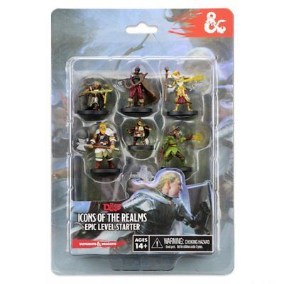 AU47.95 • Buy Dungeons & Dragons Icons Of The Realms Epic Level Starter Set Painted Figures NE