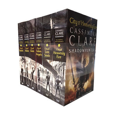 Cassandra Clare Mortal Instruments Collection Vol (1-6) 6 Book Set Paperback NEW • 19.99£