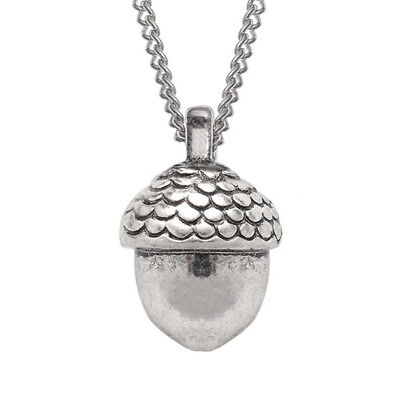 £7.99 • Buy Silver Acorn Pendant Necklace In Gift Box