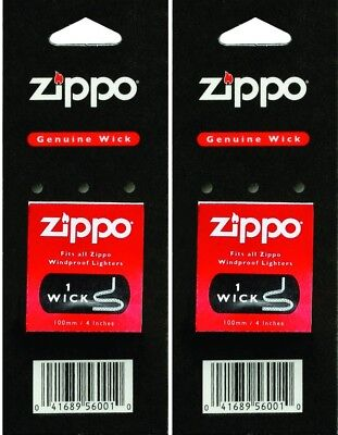 $0.99 • Buy Zippo Genuine Replacement Wick  2 Pack ACCESSORIES