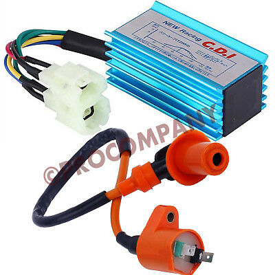 $12.78 • Buy Performance Racing CDI Box & Ignition Coil For GY6 50cc-250cc ATV Bikes Go Karts