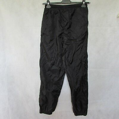 $29.25 • Buy Boys Sportrax Vintage Waterproof Tracksuit Pants Size Xl Trousers Black Lined
