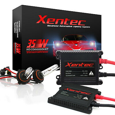 $30.88 • Buy Xentec Xenon Lights Slim 35W 55W HID Kit For Honda Fit Insight Odyssey