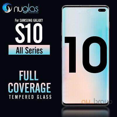 AU6.95 • Buy Samsung Galaxy S9 S8 Plus Note 9 8 NUGLAS Tempered Glass Screen Protector