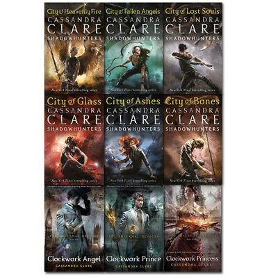 Mortal Instruments & Infernal Devices 9 Books Set By Cassandra Clare PB NEW  • 24.99£