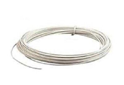 20m White Solid Core Flexible Bell Wire For Door Intercom Phone Entry Systems  • 3.69£