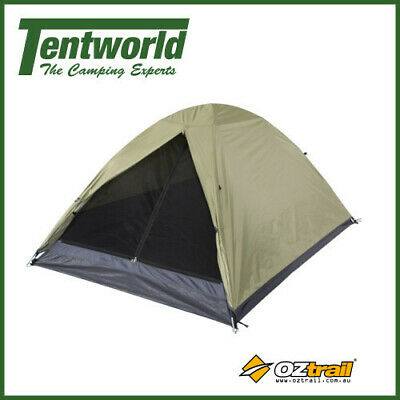 AU34.90 • Buy Oztrail Festival 2 Person Dome Camping Tent Outdoor Shelter